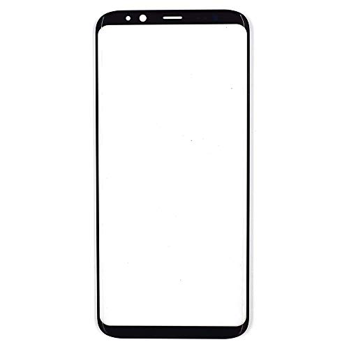 LL TRADER Pantalla de Vidrio para Samsung Galaxy S8 G950 Series 5,8 Pulgadas, Reemplazo de Screen Cristal Negro (NO LCD sin Herramienta)