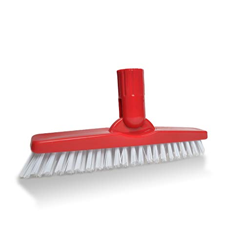 WORLD'S BEST SCRUB BRUSH CAN BE USED AS A GROUT CLEANER, A BATH BRUSH, A CLEANING BRUSH, OR A SHOWER BRUSH. THIS PREMIUM QUALITY GROUT BRUSH IS AN EXCELLENT FLOOR SCRUBBER
