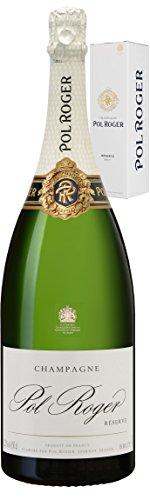 Pol Roger Champagne Brut Réserve Magnum in Geschenkverpackung (1 x 1.5 l)