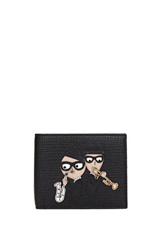 Portafogli Dolce&Gabbana patch d&g family Uomo - Pelle (BP1321AC97880999)