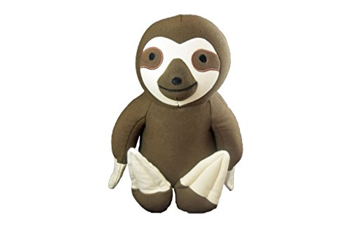 Yogibo Mates Stuffed Animals, Huggable Cute Plush Toys for Kids, A Soft Huggable Friend, Sensory Toy with Soft Mini Bean Fill, Sloth