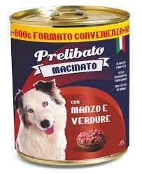Prelibato Wet Dog Beef Vegetables 800gr Italian