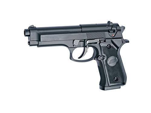 Asg ASG14760 | Pistola de Airsoft Tipo Beretta M92 Negra Calibre 6mm. Potencia: 0.3 Julios