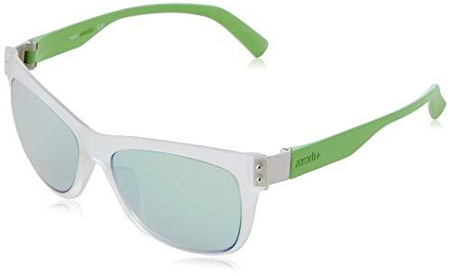 zero rh+ 823S-02-ZETHA (54 mm) Gafas, Transparente/Verde, 54/16/140 Unisex Adulto