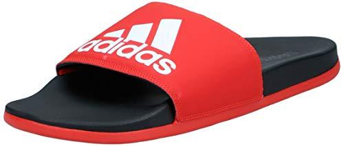 Adidas Herren Adilette Comfort Badeschuhe, Rot (red F34722), 43 EU