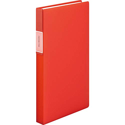 キングジム 名刺ファイル フェイバリッツ 120P オレンジ FV22Tオレ FV22Tオレ