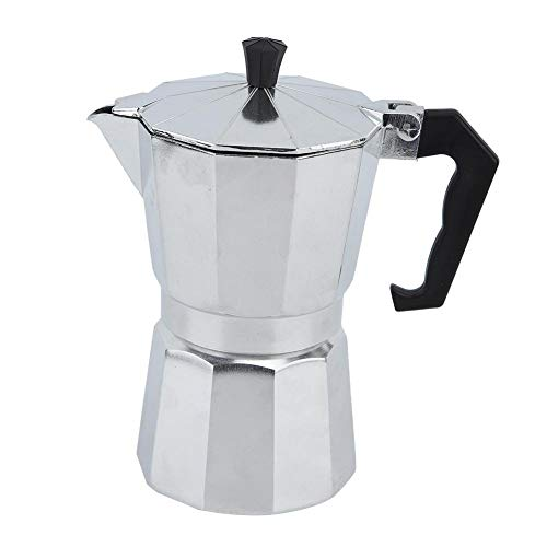 Best Bargain Coffee Pot, Aluminum Coffee Maker Coffee Octagonal Kettle