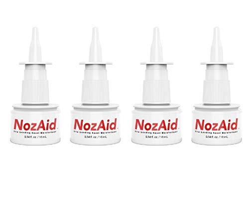 NozAid Nasal Moisturizer Spray w/Sesame Oil 4 Pack...
