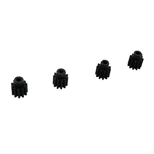 Hellery 4 Pezzi   Set 11 Ingranaggi in Metallo per Pignoni VISUO XS809 XS809HC XS809HW RC Drone Accessori