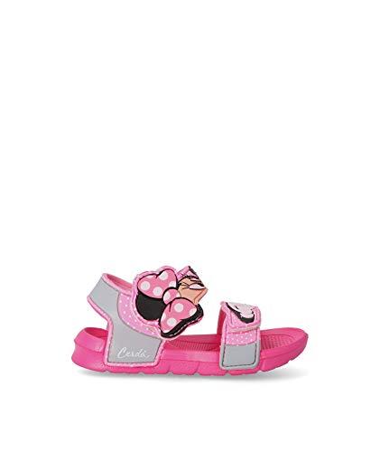 Minnie Mouse S0712219, Sandale Plate Mixte Enfant, Rosa, 23 EU
