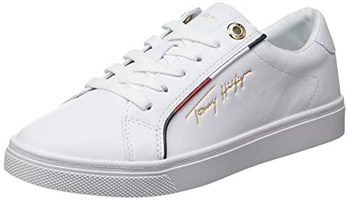 Tommy Hilfiger Damen Venus 55A Sneaker, White, 39 EU