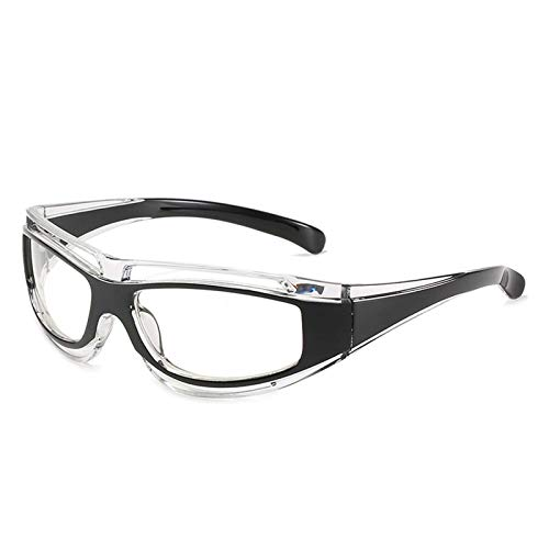 AMFG Gafas de sol para hombre PC Marco de PC Gafas de sol de ciclismo de estilo europeo y americano Gafas de sol deportivas al aire libre (Color : E)