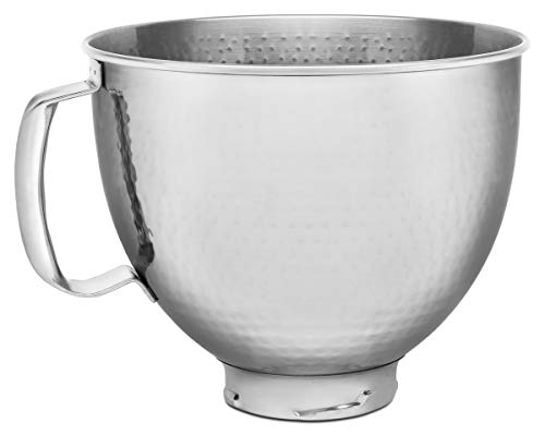KitchenAid 5KSM5SSBHM Optionales Zubehör Küchenmaschine, Edelstahl, Silber