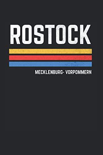 Rostock Rostocker: Rostock & Mecklenburg-Vorpommern Notizbuch 6'x9' Liniert Geschenk für & Stadt