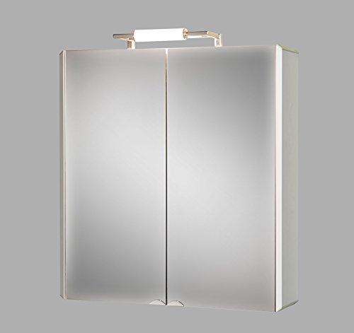 Aluminiumspiegelschrank Basic 650 Spiegelschrank Aluminium Sieper