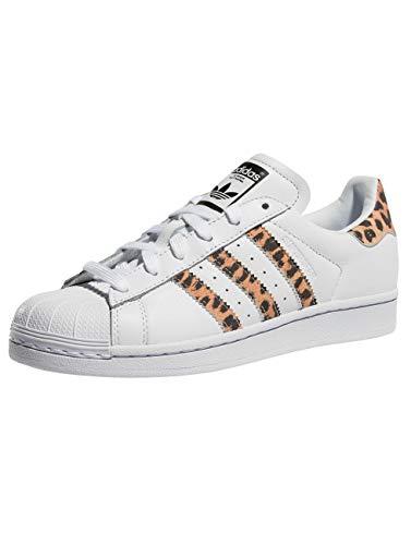 adidas Superstar Zapatillas para Mujer Blanco, 36 2/3 EU