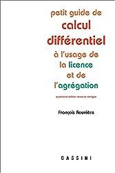 Petit guide de calcul différentiel de François Rouvière
