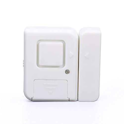 XMSIA Intelligenter Fenster Türsensor Türfenster Alarm Einbrecher Alarm Home Security WLAN-Magnetsensor Alarm (6...