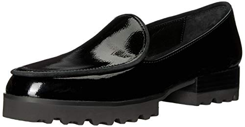 Donald J Pliner Women's Elen Loafer, Black Patent, Size 8.0