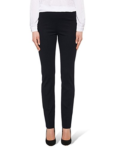 Marc Cain Essentials Damen Hose +E8122J24, Blau (Midnight Blue 395), 40 (4)