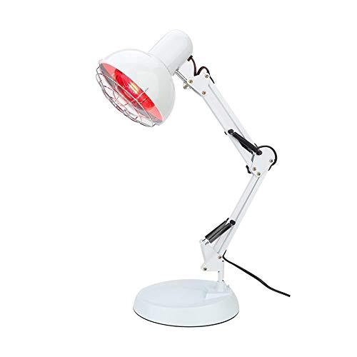 Infrarot Heizlampe, Hot Compress Physiotherapie Instrumentenlicht, Rotlichtlampe Wärmelampe, Behandlung von Erkältungen und Muskelverspannungen, zur Schmerzlinderung bei Rückenschmerzen