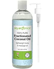 Fractionated Coconut Oil by Sky Organics