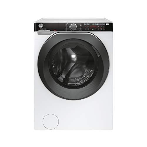 Hoover H-WASH 500 PRO Lavatrice Smart 14 Kg, 1400 Giri, Wi-Fi + Bluetooth, Carica Frontale, Funzione Vapore, Motore Inverter, Libera Installazione, 60-67-85 cm, Bianco, Classe A