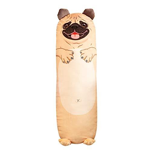 MiaoMiao pluche speelgoed120-150cm Cartoon dier varken luiaard pinguïn dinosaurus hond olifant kussen pluche speelgoed lange zachte kussens slapen Bolster