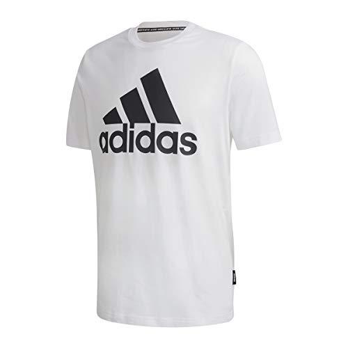 adidas MH Bos Tee T-Shirt, Uomo, White, L