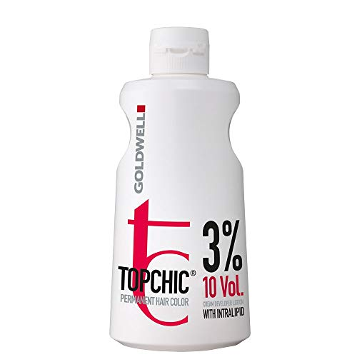 Goldwell Topchic Cream Developer Lotion 9%, 1er Pack (1 x 1 l)