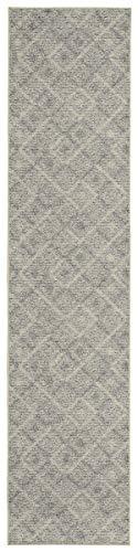 Garland Rug Classic Berber Area Rug, 2-Feet by 8-Feet, Earth Tone
