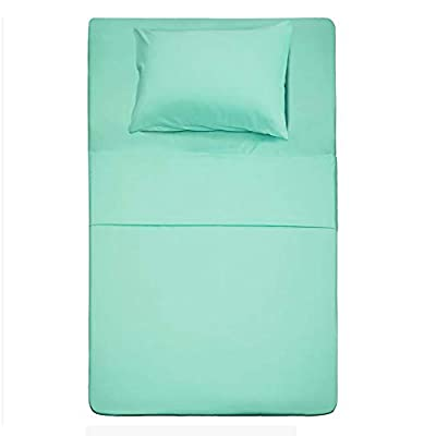 Best Season Twin Size Sheets Set - 3 Piece (Mint Color) Brushed Microfiber Bed Sheet Set,Deep Pocket,Extra Soft & Fade Resistant,Hypoallergenic