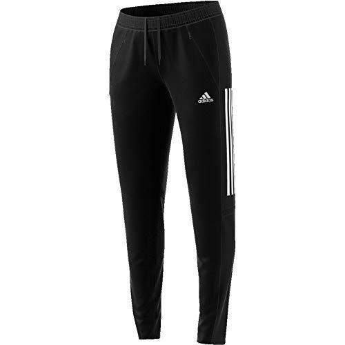 adidas Womens Con20 Tr PNT W Track Pants, Black/White, S