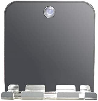 GEZICHTA Shower Mirror Fogless Shatterproof Bathroom Travel Makeup Wall Hanging for Shaving product image