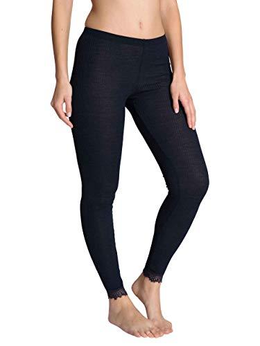 CALIDA Damen Silky Wool Joy Unterwäsche, Dark Lapis Blue, L