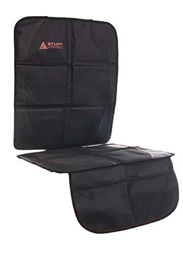 stuff from above® universal Autositzschoner, Autositzbezug, Kindersitzunterlage, Autositzauflage, Schutzunterlage mit Netztaschen