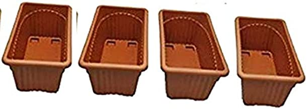 Khoji Venus Rectangular Window Planter Flower Pot (667) - Set of 4 Pots