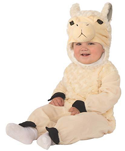 Arca de Noe - Disfraz Llama infantil, Talla 1-2 aos (Rubie's 701101-T)