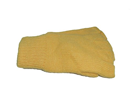 Roeckl Damen Halbfinger Angora Strick Handschuhe J-1765LB Farbe hellgelb