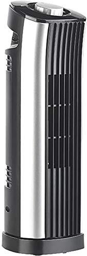 Sichler Haushaltsgeräte Tisch Turmventilator: Tisch-Säulenventilator mit 75°-Oszillation, 2 Stufen, 24 Watt (Tower-Ventilator)