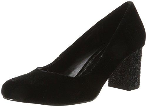 Buffalo Shoes Damen C404B-1A S0026 Velvet Pumps, Schwarz (Black134), 36 EU