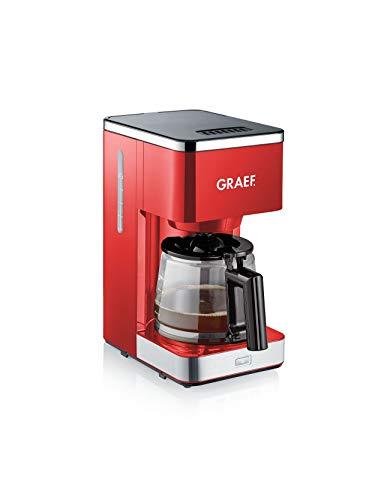 Graef FK403EU Filterkaffeemaschine, 1000, rot