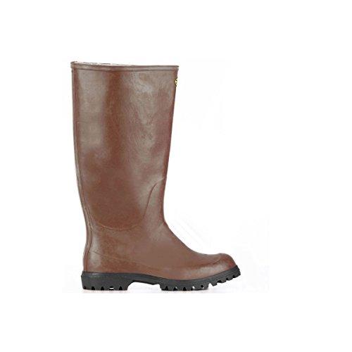 Gummistiefel - 7324-ginocchio Alpina - Brown - 41