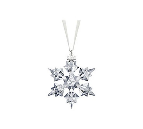 SWAROVSKI 2010 Annual Edition Crystal Snowflake Ornament