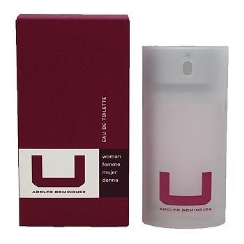 * U by Adolfo Dominguez for Women * 2.5 oz (50 ml) EDT Spray