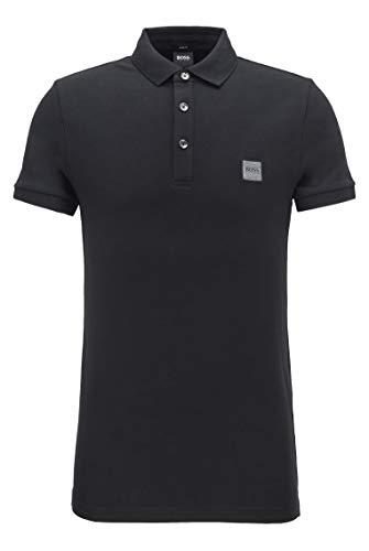 BOSS Herren Passenger Poloshirt, Schwarz, M EU