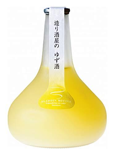 ほまれ酒造『會津ほまれ 造り酒屋のゆず酒 アラジンボトル』