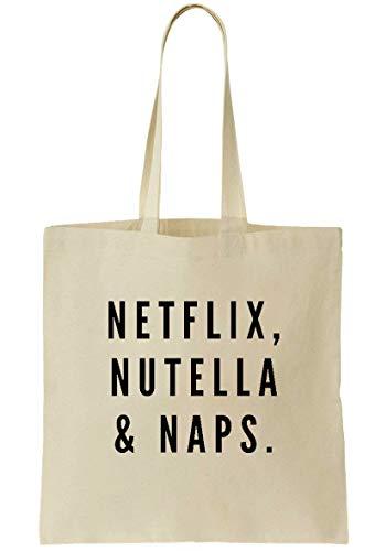 Raze London , Damen Tote-Tasche, Netflix Print - Größe: Einheitsgröße