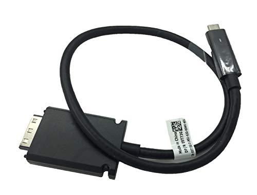 Thunderbolt USB-C Cable para Dell Thunderbolt TB15 K16A Dock compatible 5T73G 3V37X, no compatible con WD15 K17 K17A Series