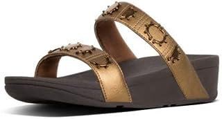 FitFlop Women's Lottie Crescent Slide Stud Sandals